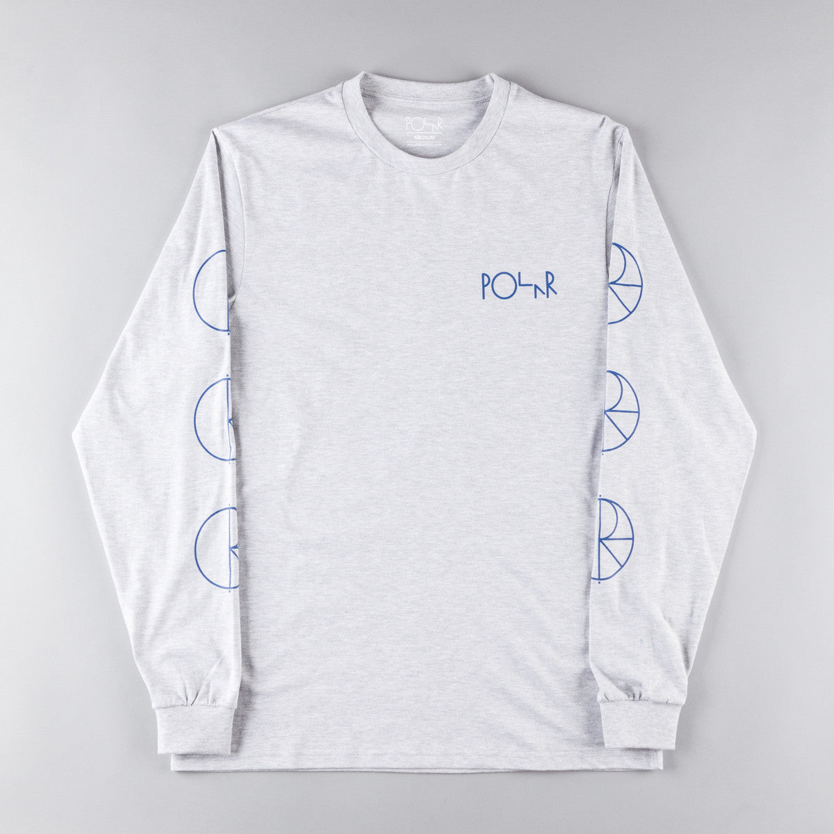 Polar Racing Long Sleeve T-Shirt - Heather Grey