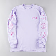Polar Racing Long Sleeve T-Shirt - Lavender