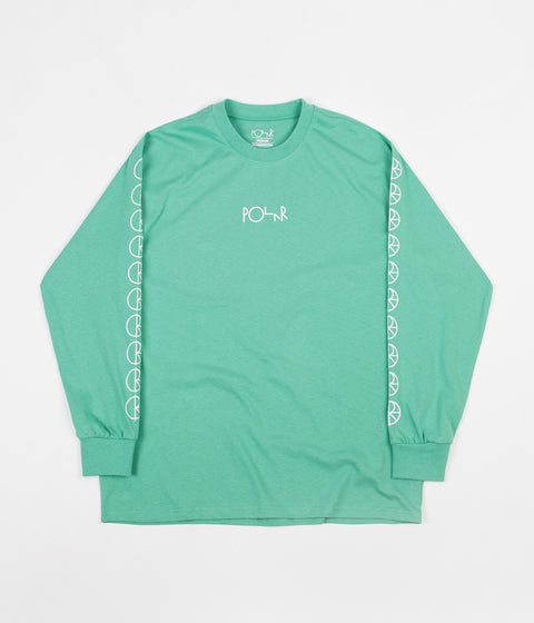 Polar Racing Long Sleeve T-Shirt - Peppermint