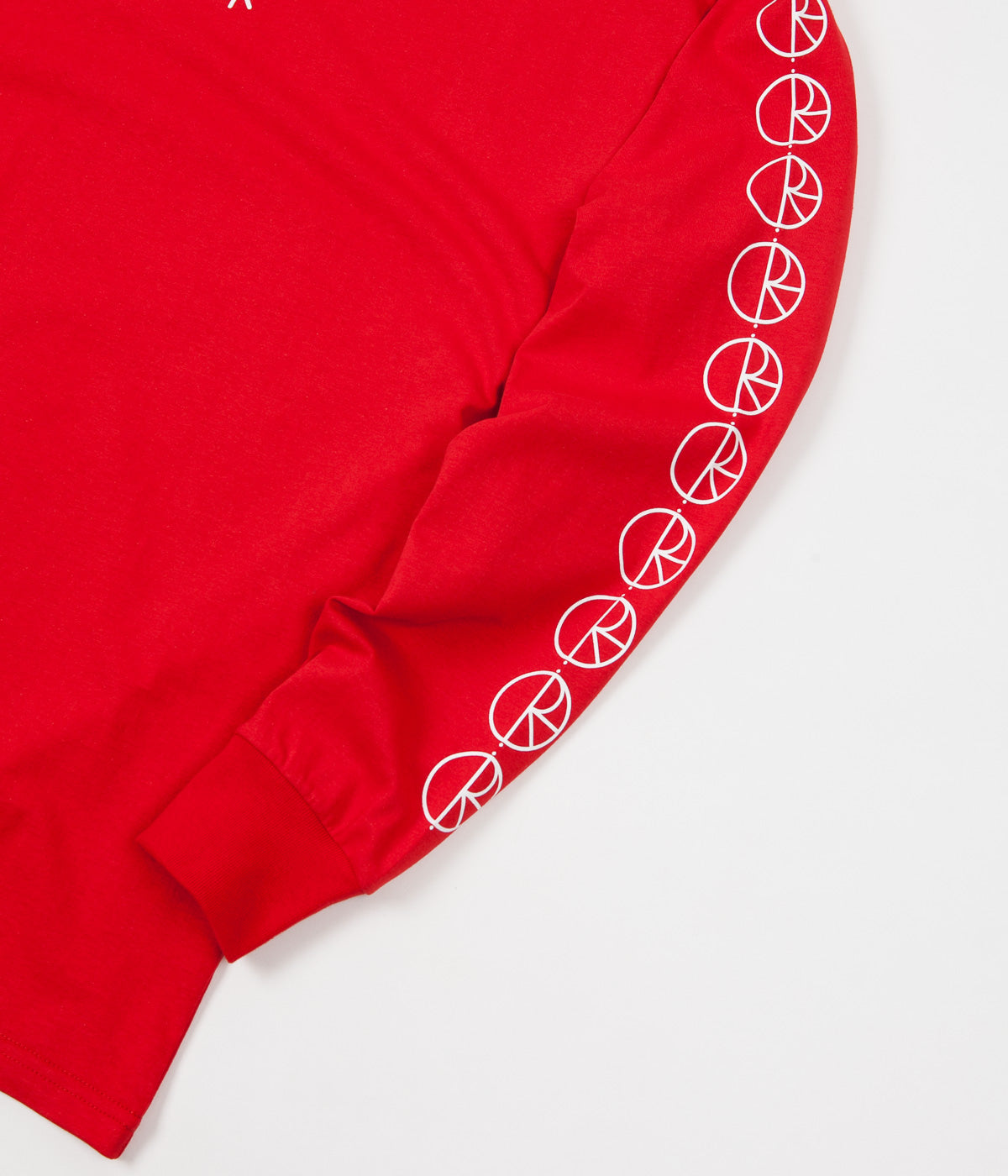 Polar Racing Long Sleeve T-Shirt - Red