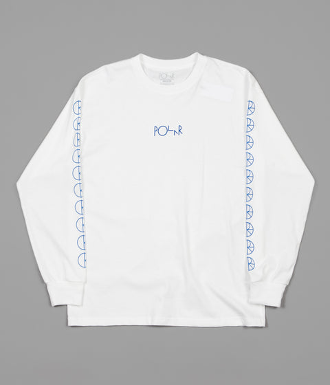 Polar Racing Long Sleeve T-Shirt - White
