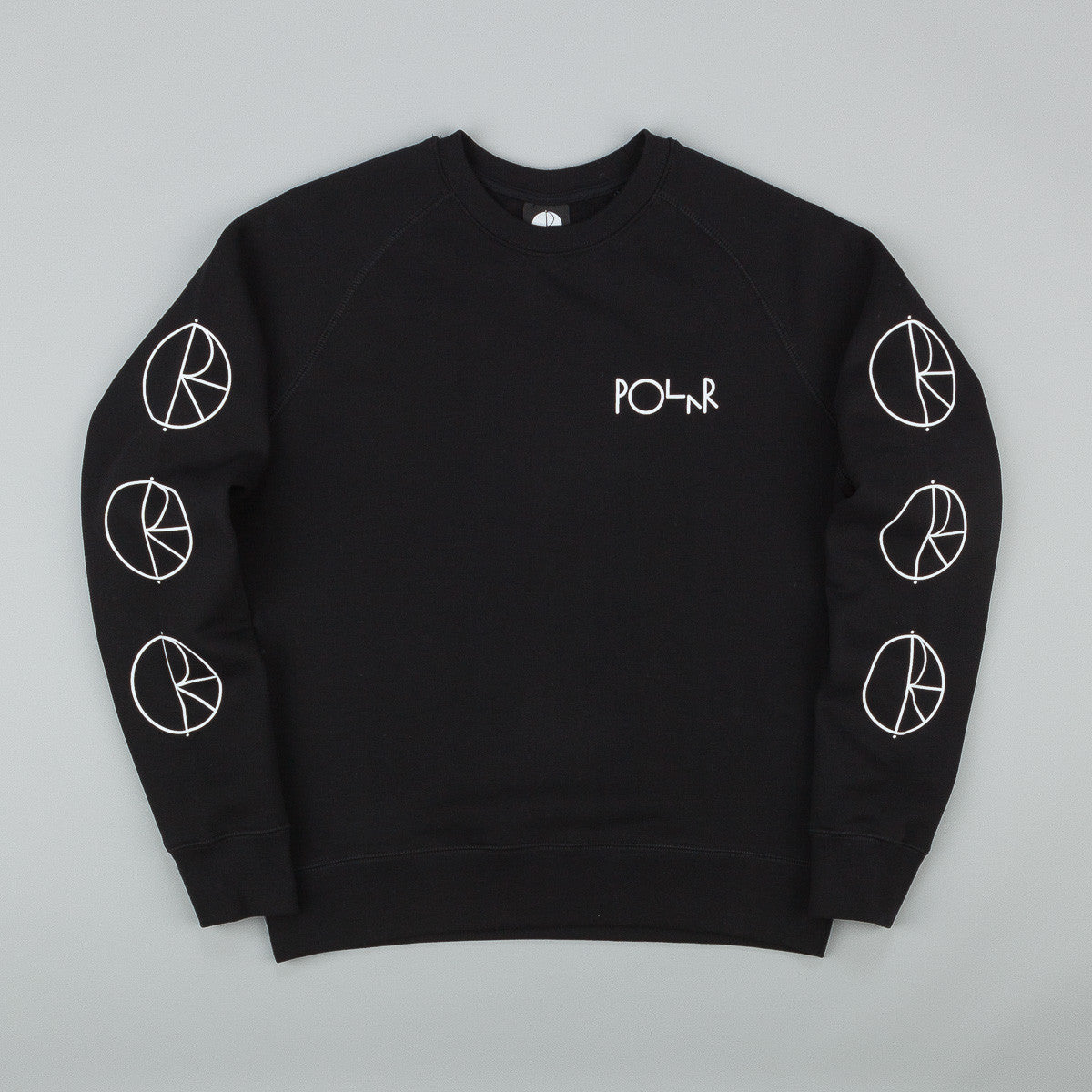 Polar Racing Sweatshirt - Black / White