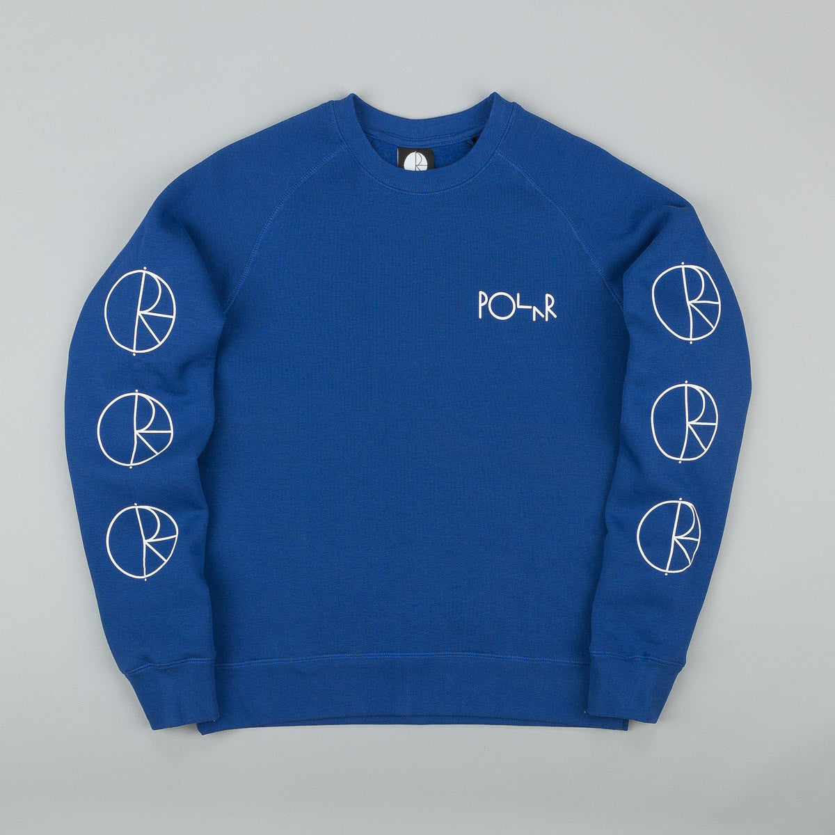 Polar Racing Sweatshirt - Klein Blue / White