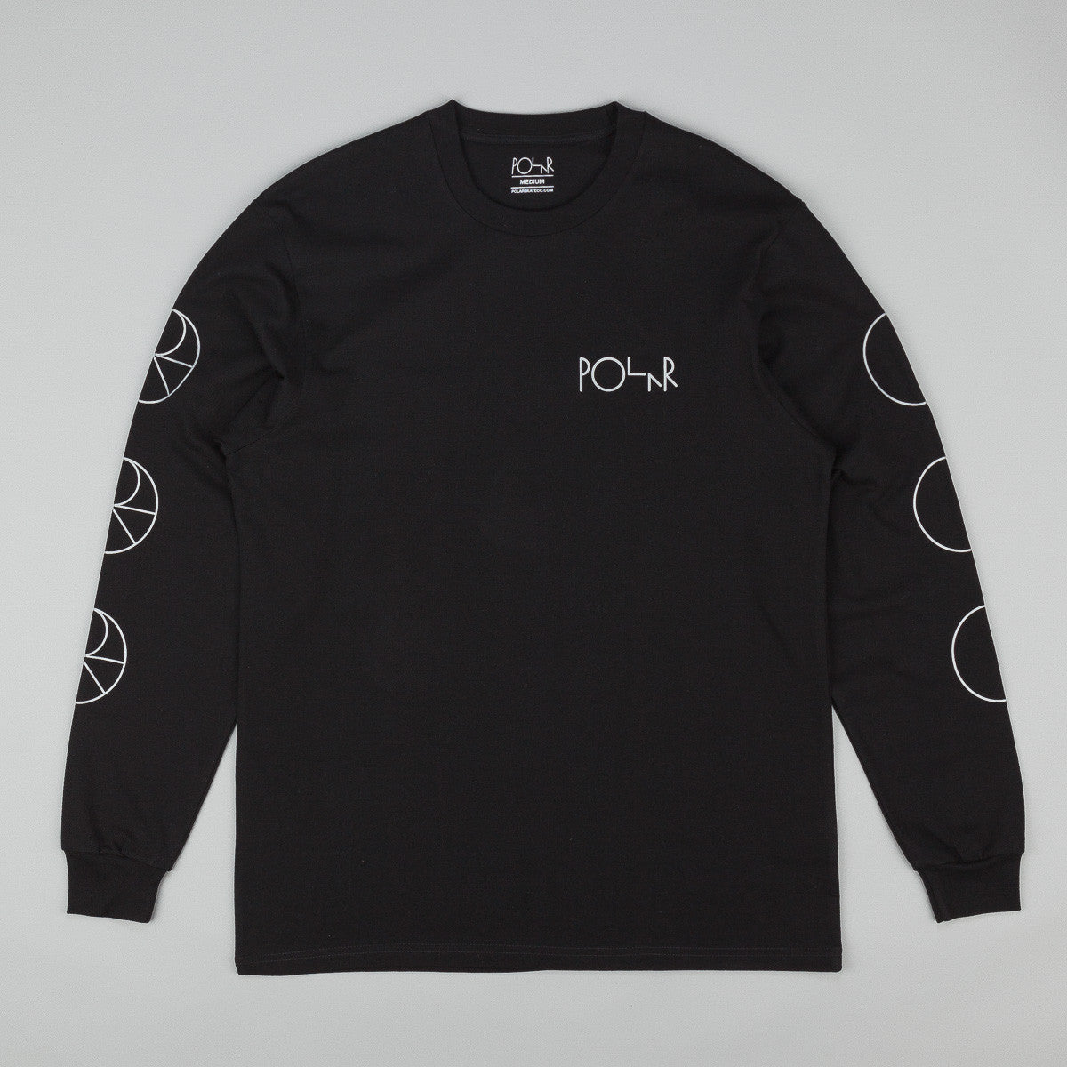 Polar Reflective Long Sleeve T-Shirt - Black