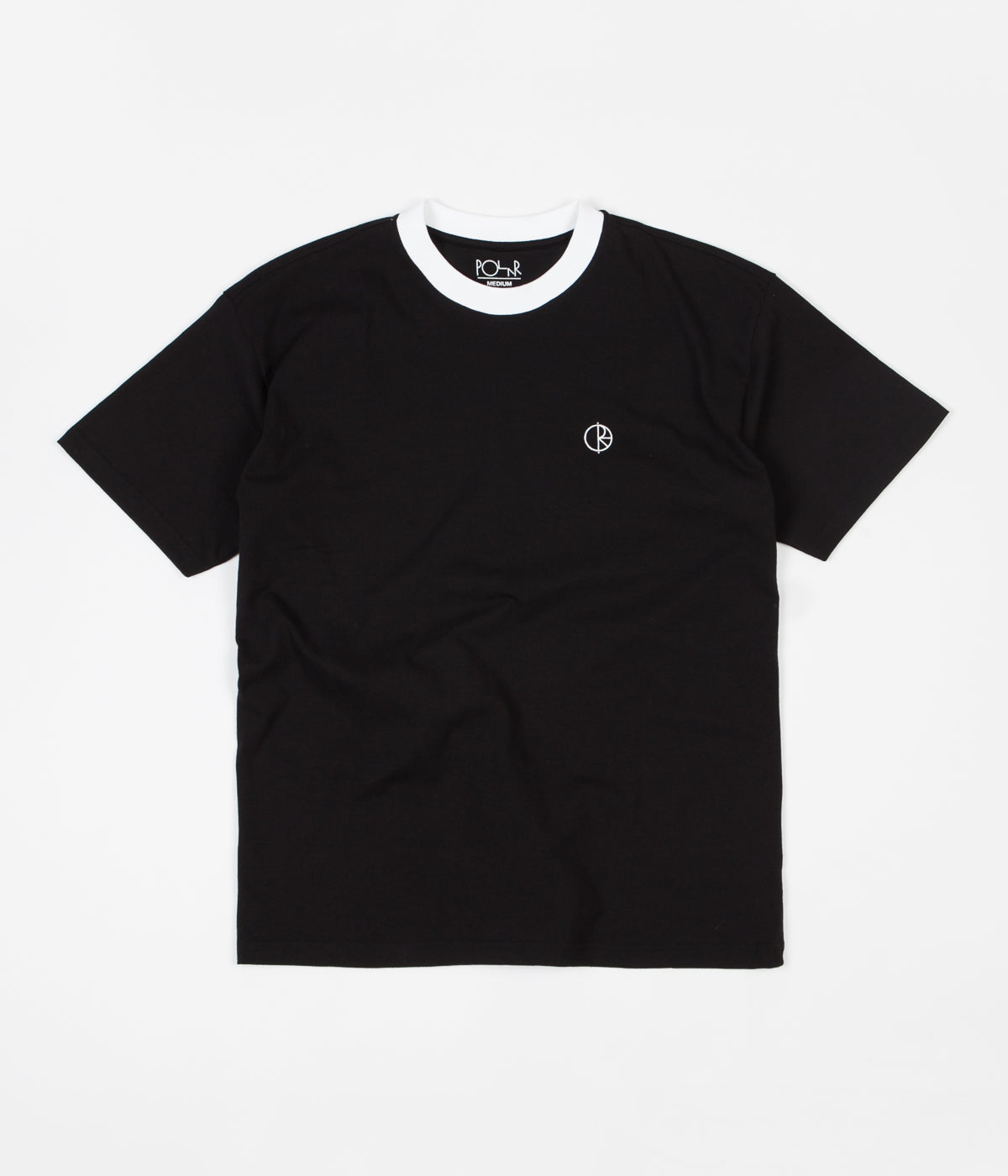 Polar Ringer T-Shirt - Black / White