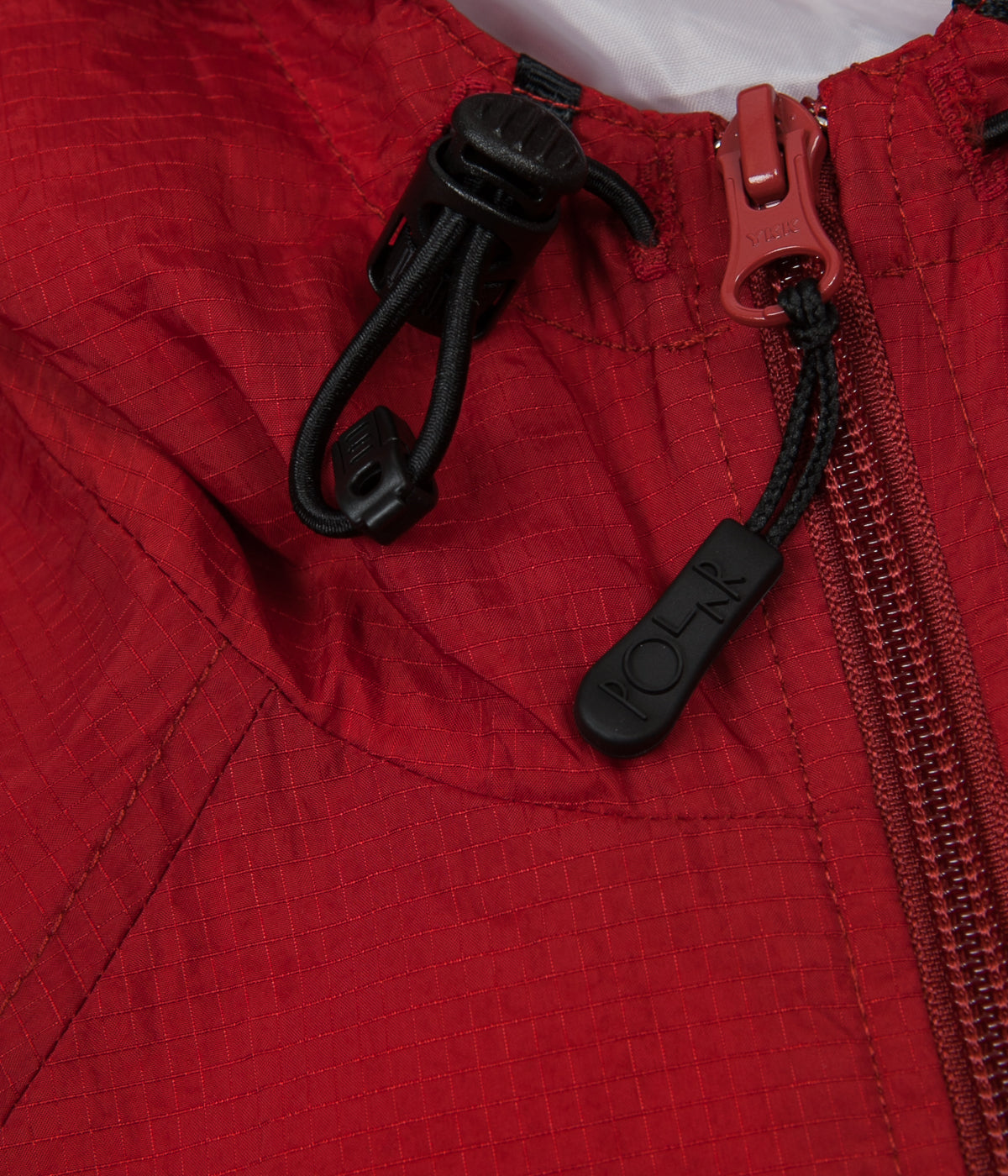 Polar Ripstop Anorak Jacket - Red