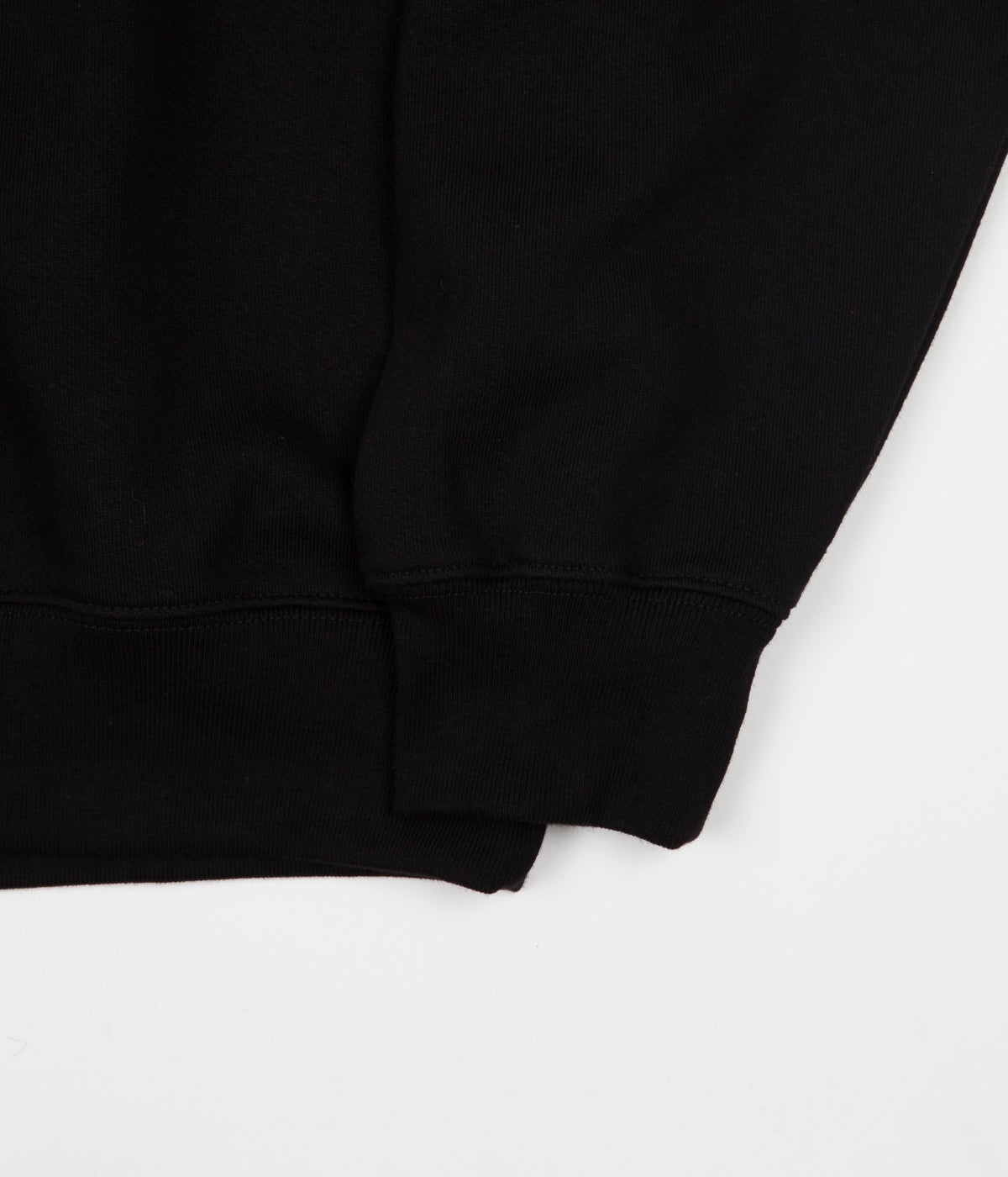 Polar Script Crewneck Sweatshirt - Black