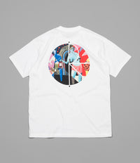Polar Secrets Fill Logo T-Shirt - White