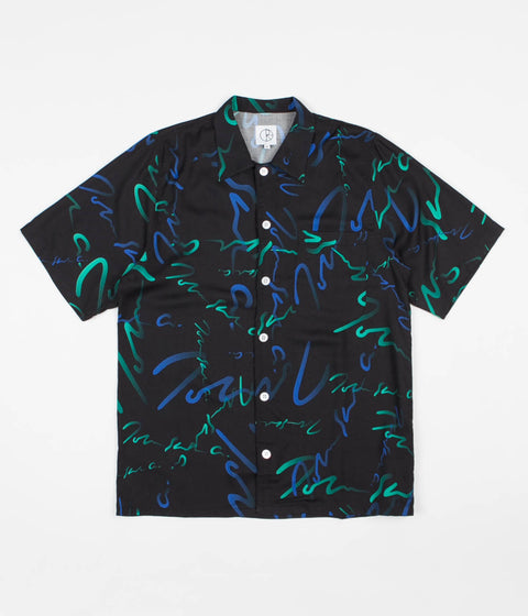 Polar Signature Art Shirt - Black