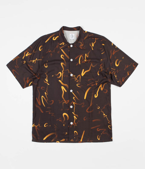 025442f965 Polar Signature Art Shirt - Brown