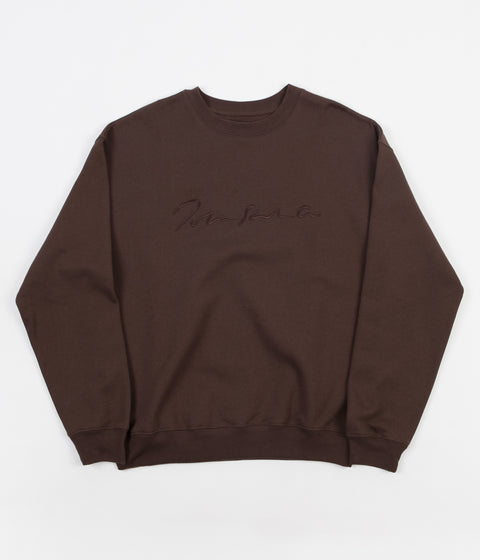Polar Signature Crewneck Sweatshirt - Brown