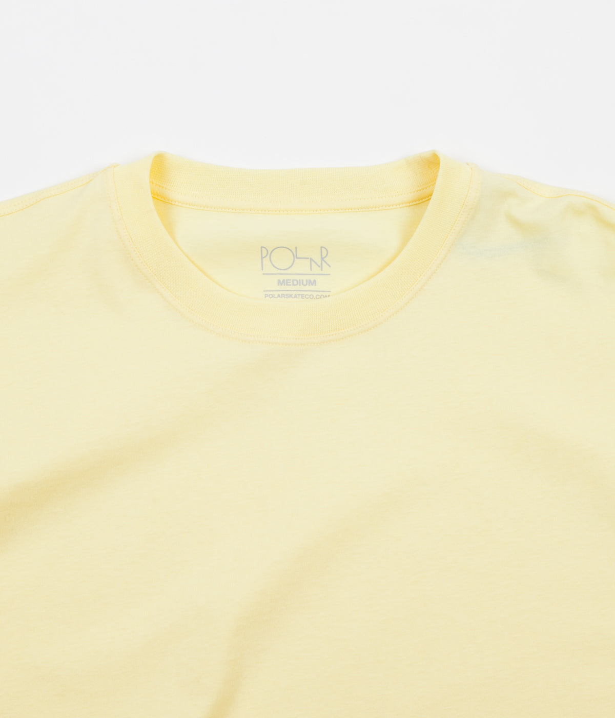 Polar Signature Long Sleeve T-Shirt - Light Yellow