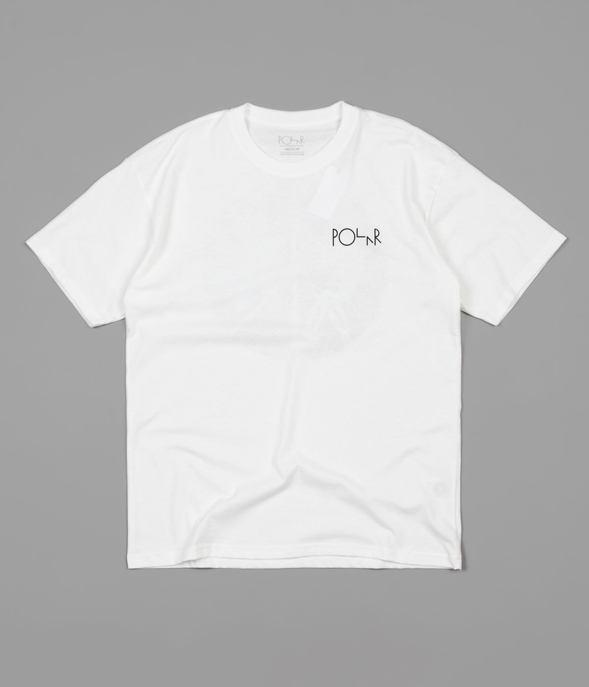 Polar Skeleton Fill Logo T-Shirt - White