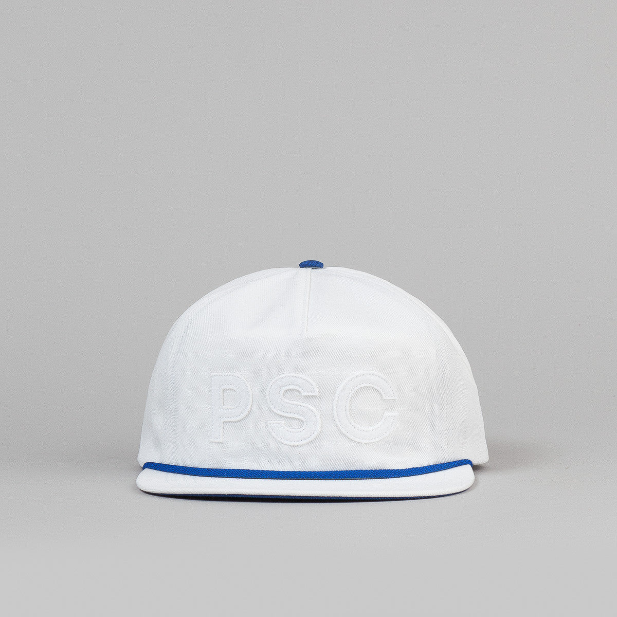 Polar Soft Snapback Cap - White / Blue