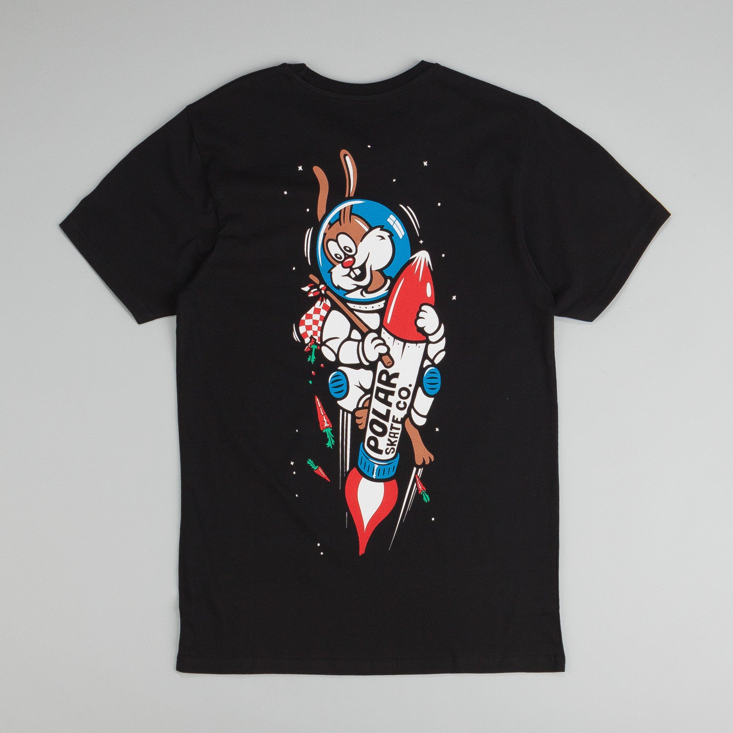 Polar Space Bunny T-Shirt Black