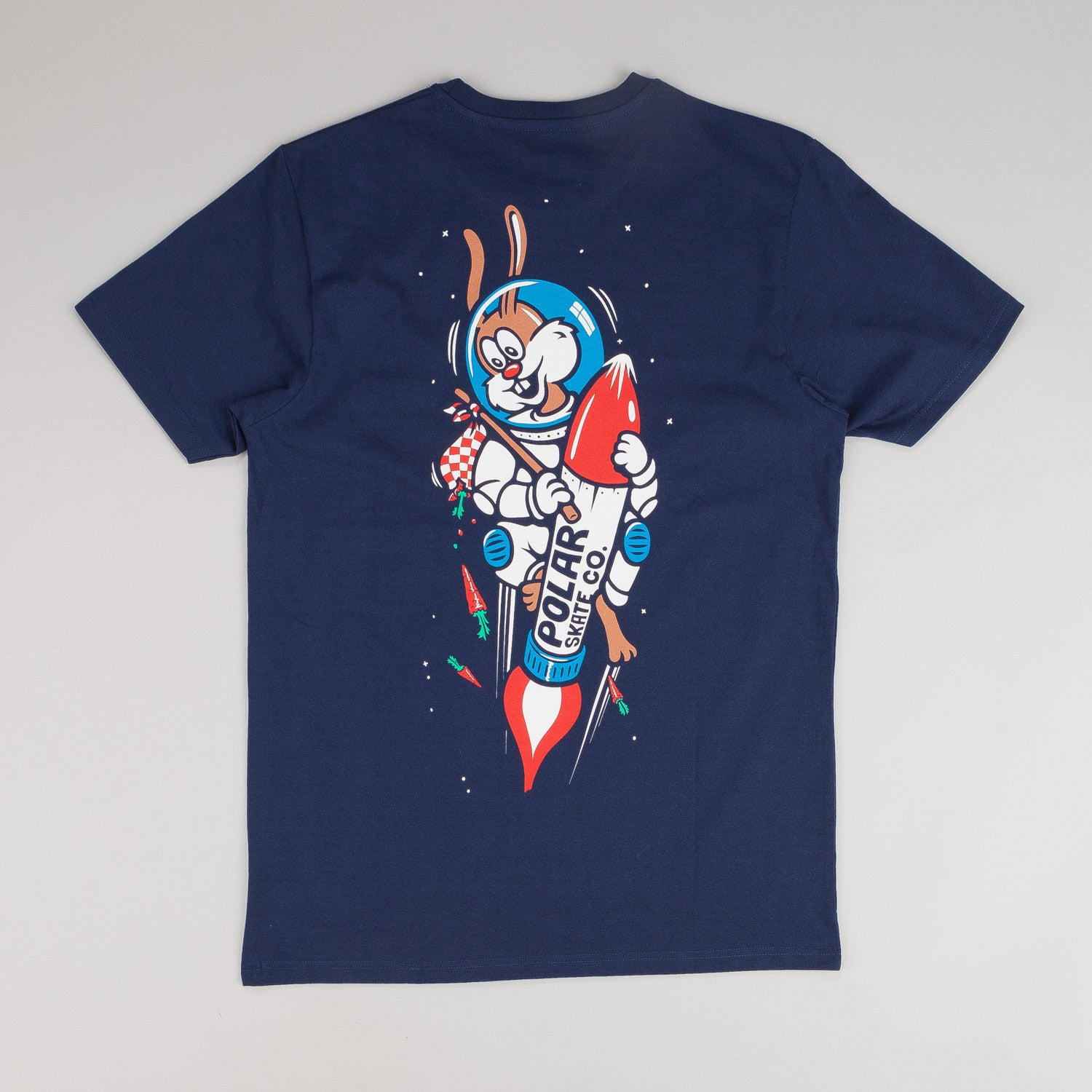 Polar Space Bunny T-Shirt Navy