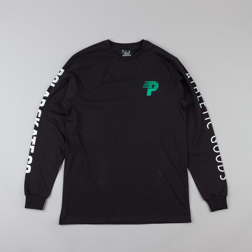 Polar Speedy-P Racing Arm & Chest L/S T-Shirt Black