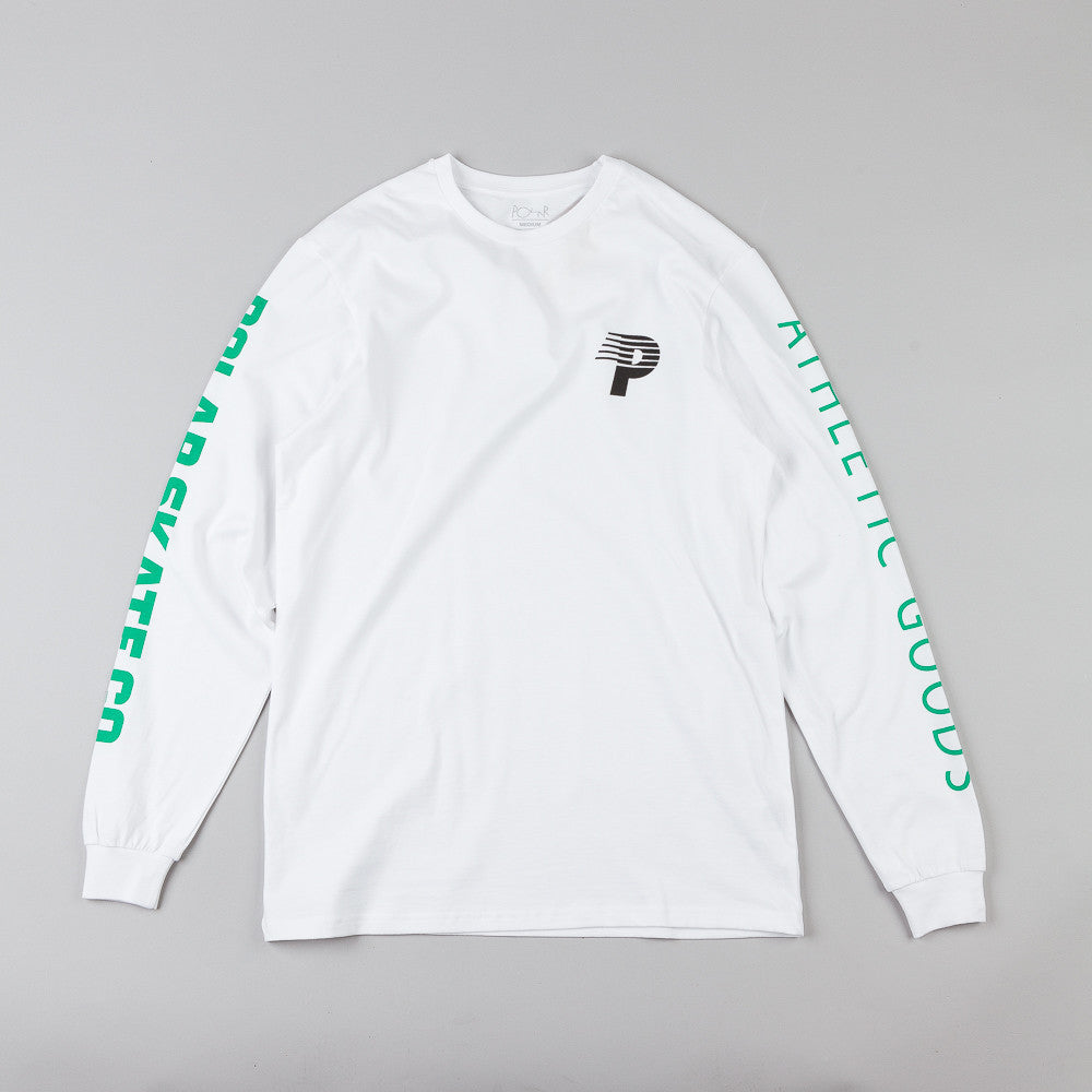 Polar Speedy-P Racing Arm & Chest L/S T-Shirt White