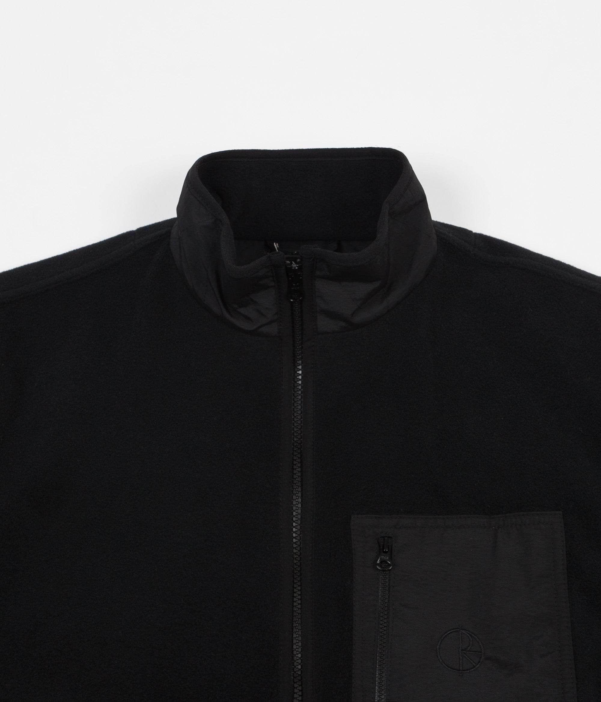 Polar Stenstrom Fleece Jacket - Black / Black