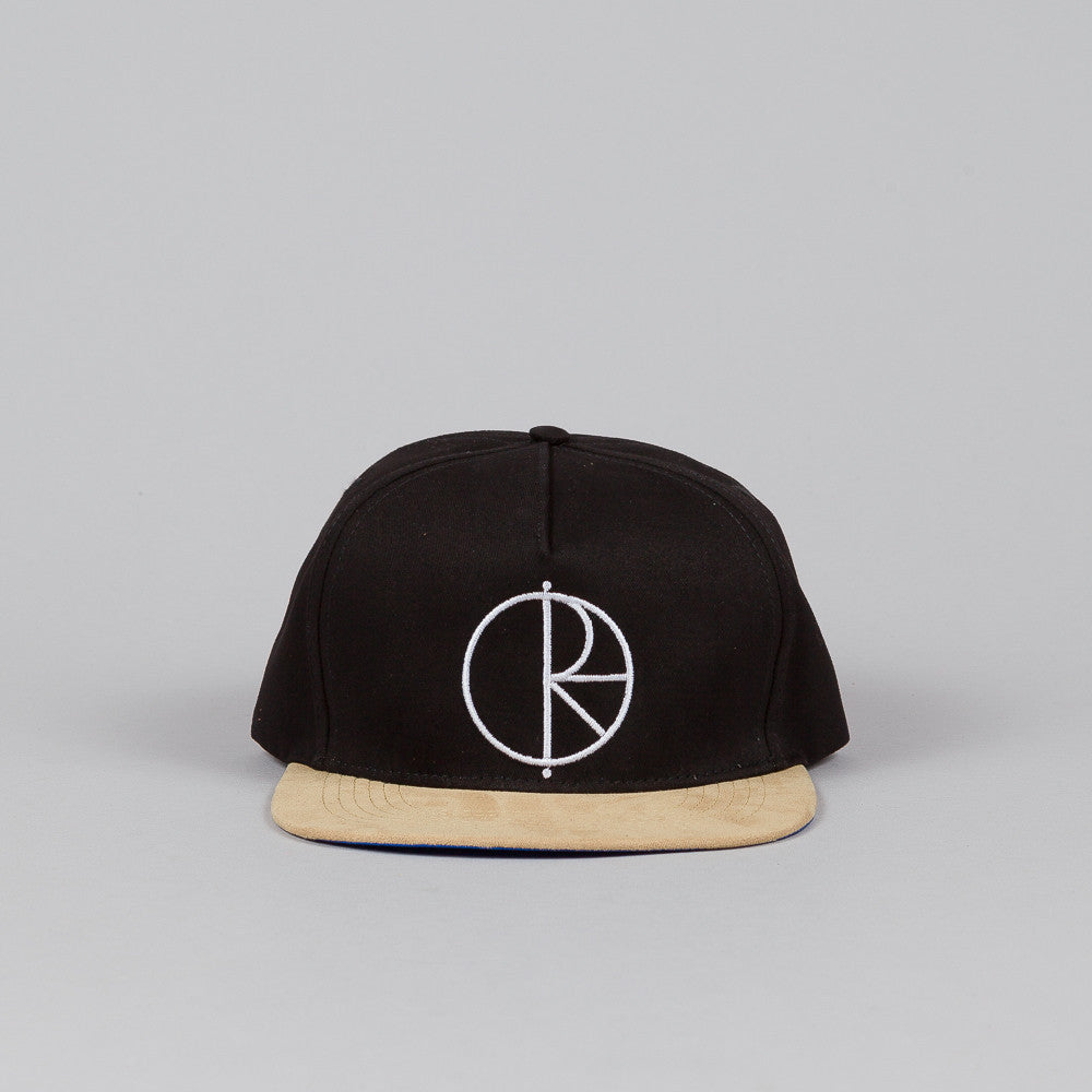 Polar Stroke Logo Snapback Cap Black / Brown