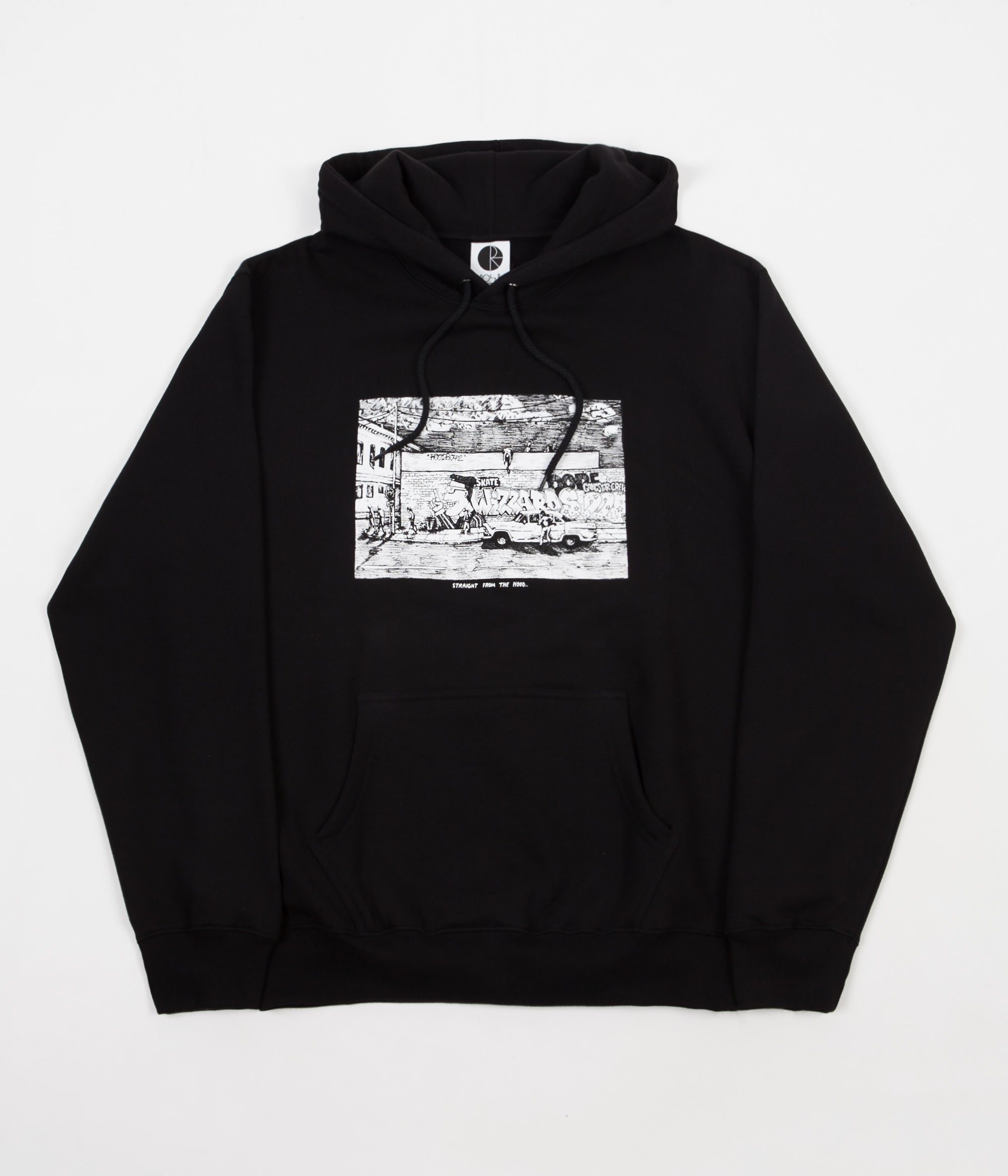 Polar Straight From The Hood Hoodie - Black