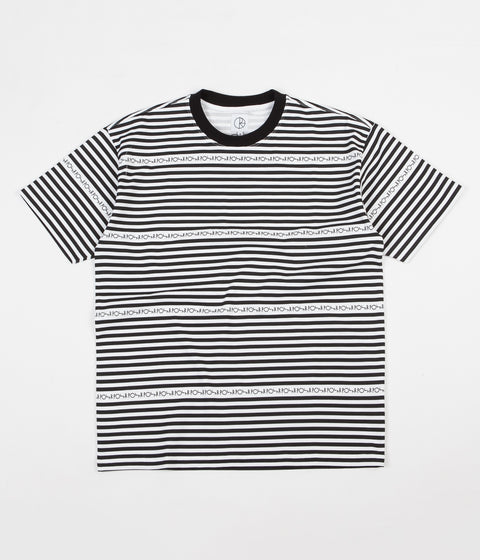 Polar Stripe Logo T-Shirt - Black