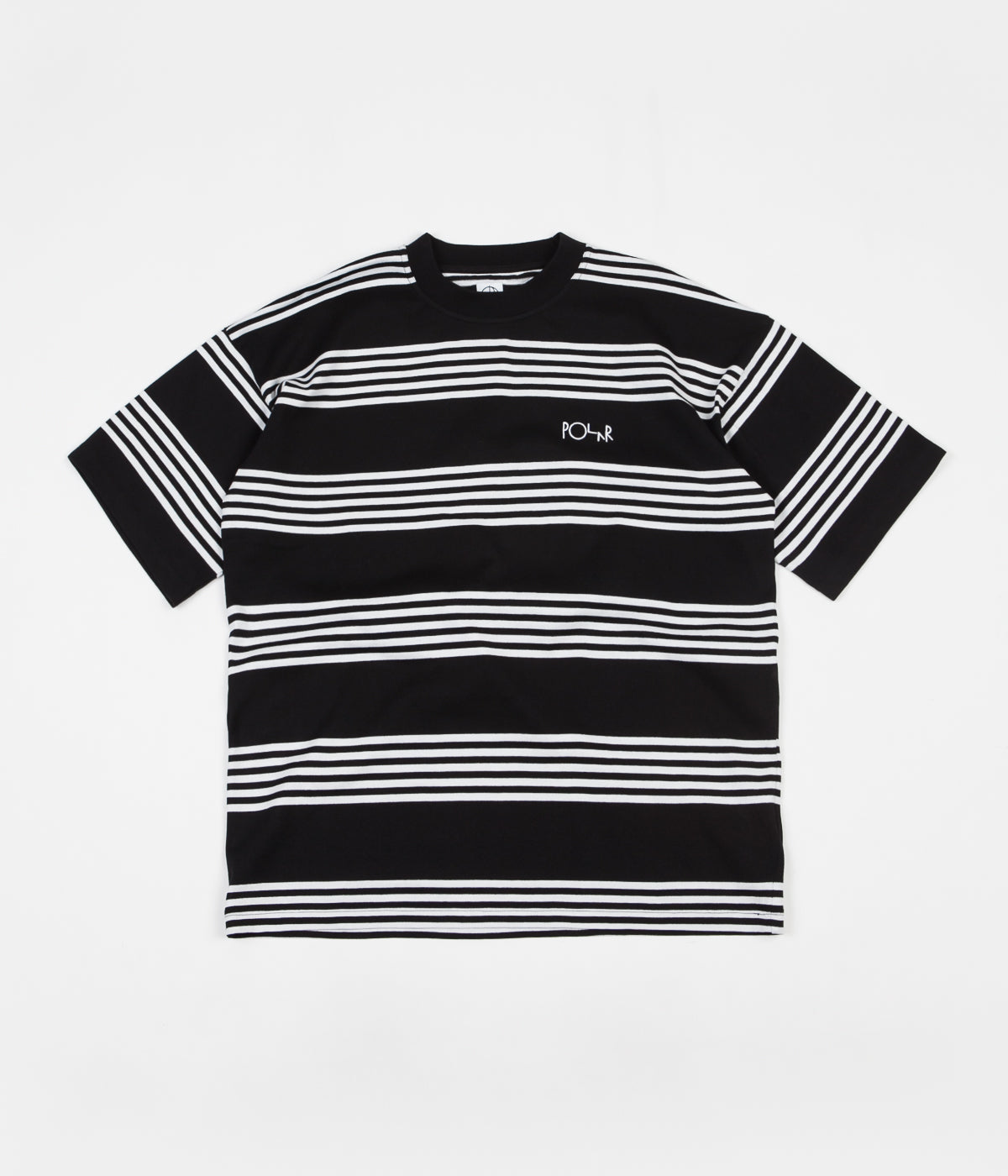 Polar Striped Surf T-Shirt - Black / White