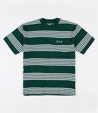 Polar Striped Surf T-Shirt - Dark Green