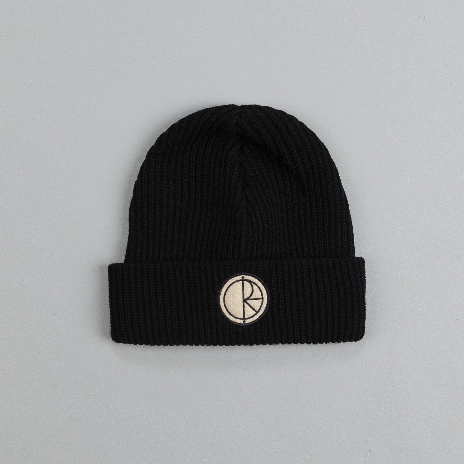 Polar Stroke Logo Harbour Beanie Black