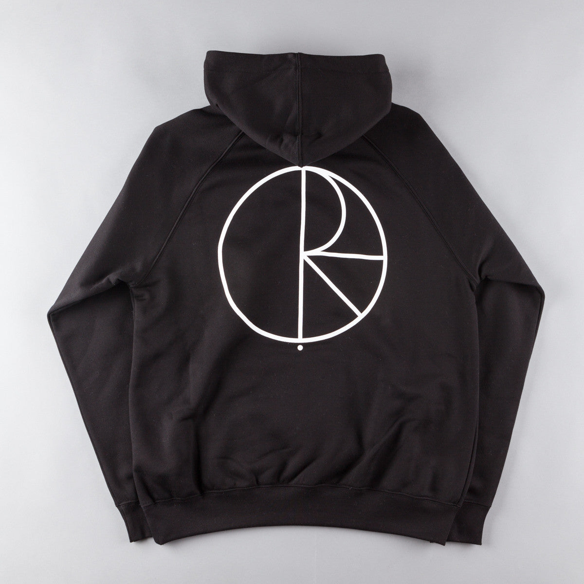 Polar Stroke Logo Hooded Sweatshirt - Black