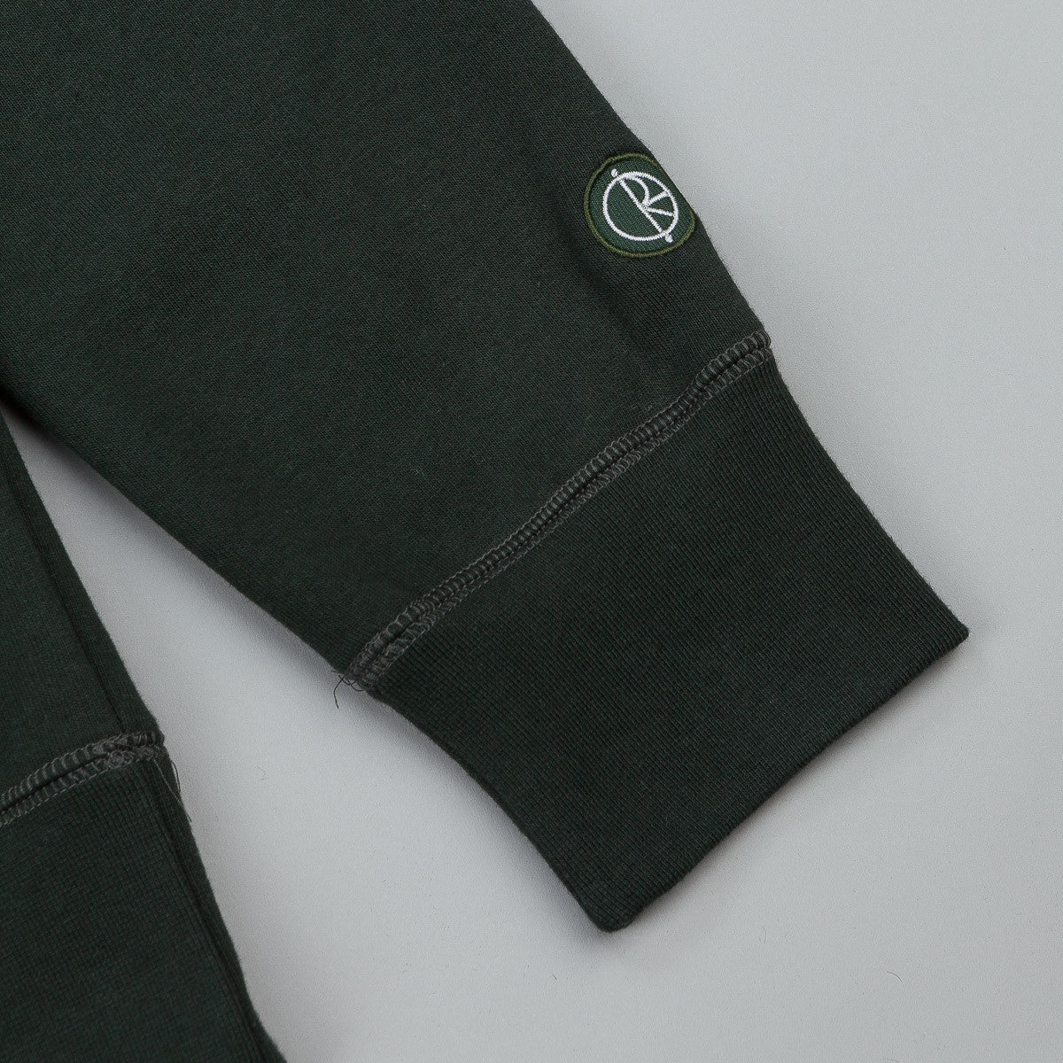 Polar Stroke Logo Hooded Sweatshirt - Botanical Green / White