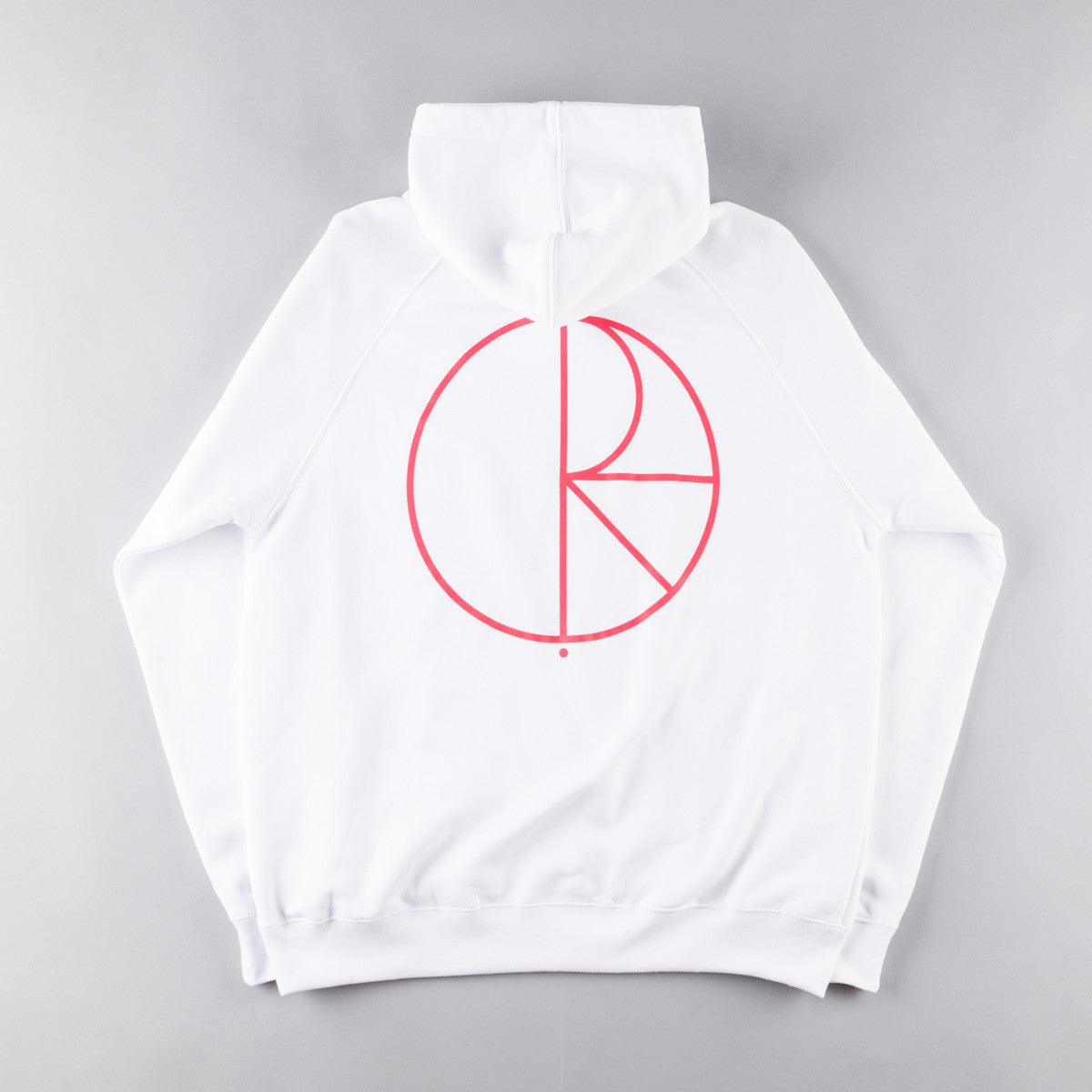 Polar Stroke Logo Hooded Sweatshirt - White