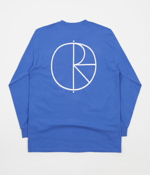Polar Stroke Logo Long Sleeve T-Shirt - Baja Blue