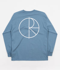 Polar Stroke Logo Long Sleeve T-Shirt - Captains Blue