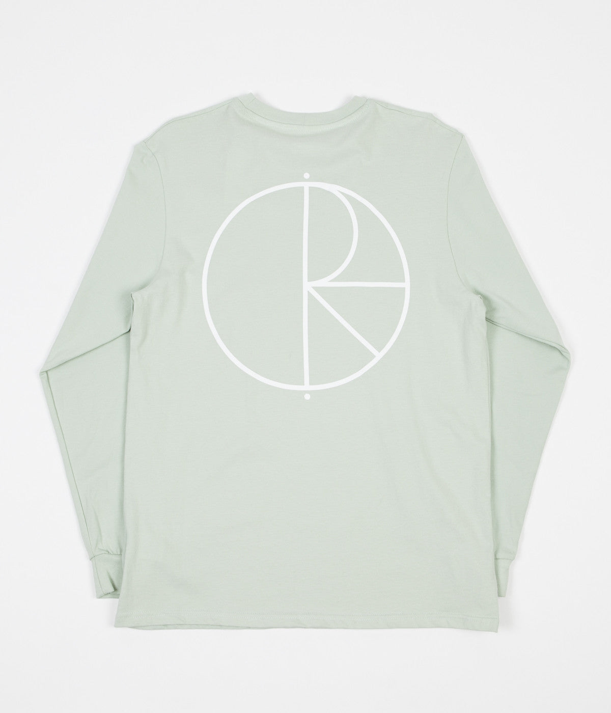 Polar Stroke Logo Long Sleeve T-Shirt - Sea Foam Green