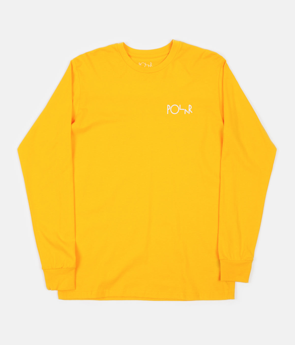 Polar Stroke Logo Long Sleeve T-Shirt - Yellow