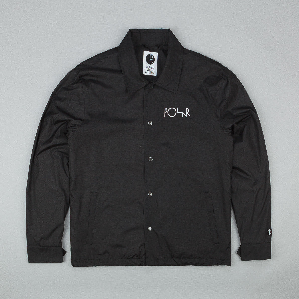 Polar Stroke Logo Patch Coach Jacket
