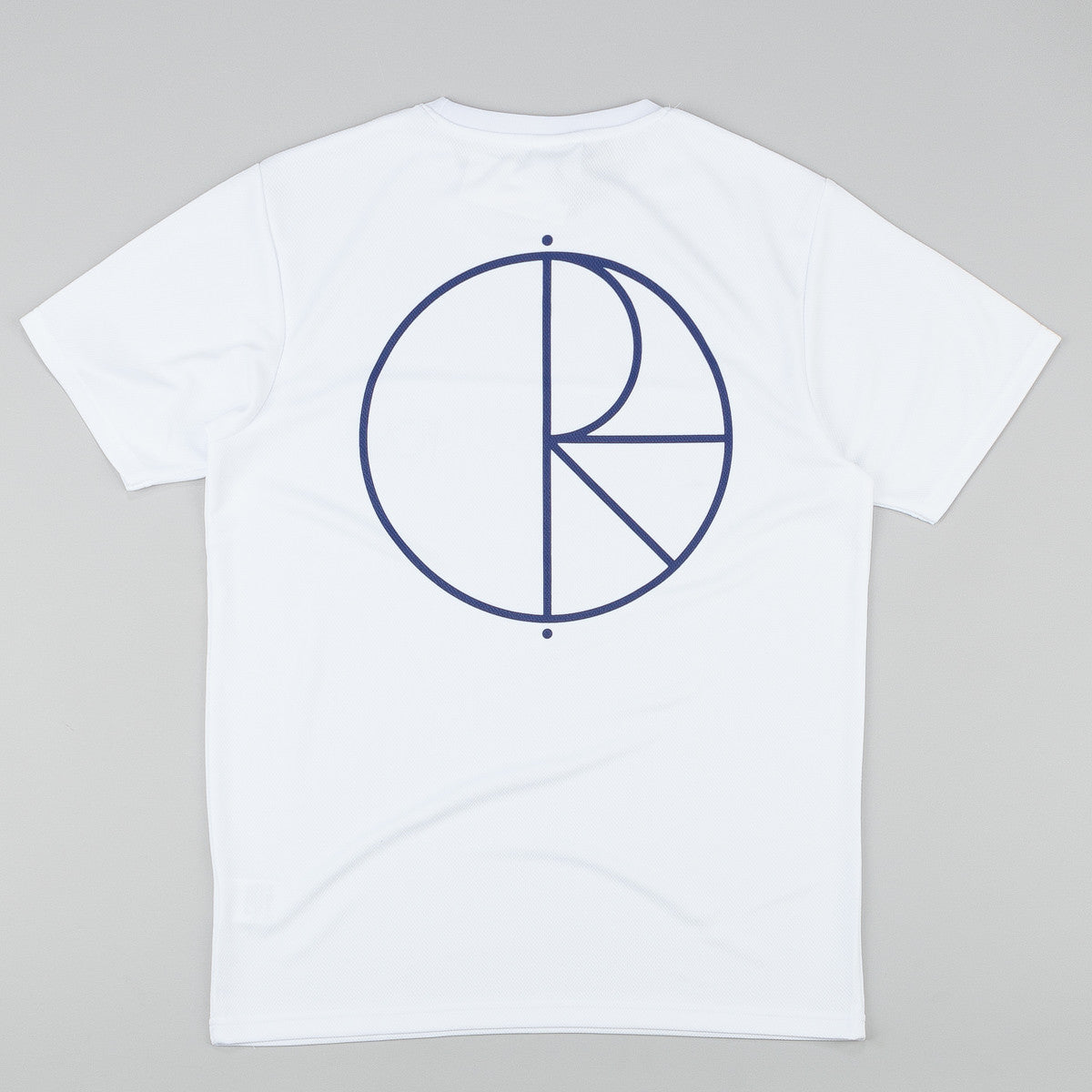 Polar Stroke Logo PSC Fit T-Shirt - White / Navy