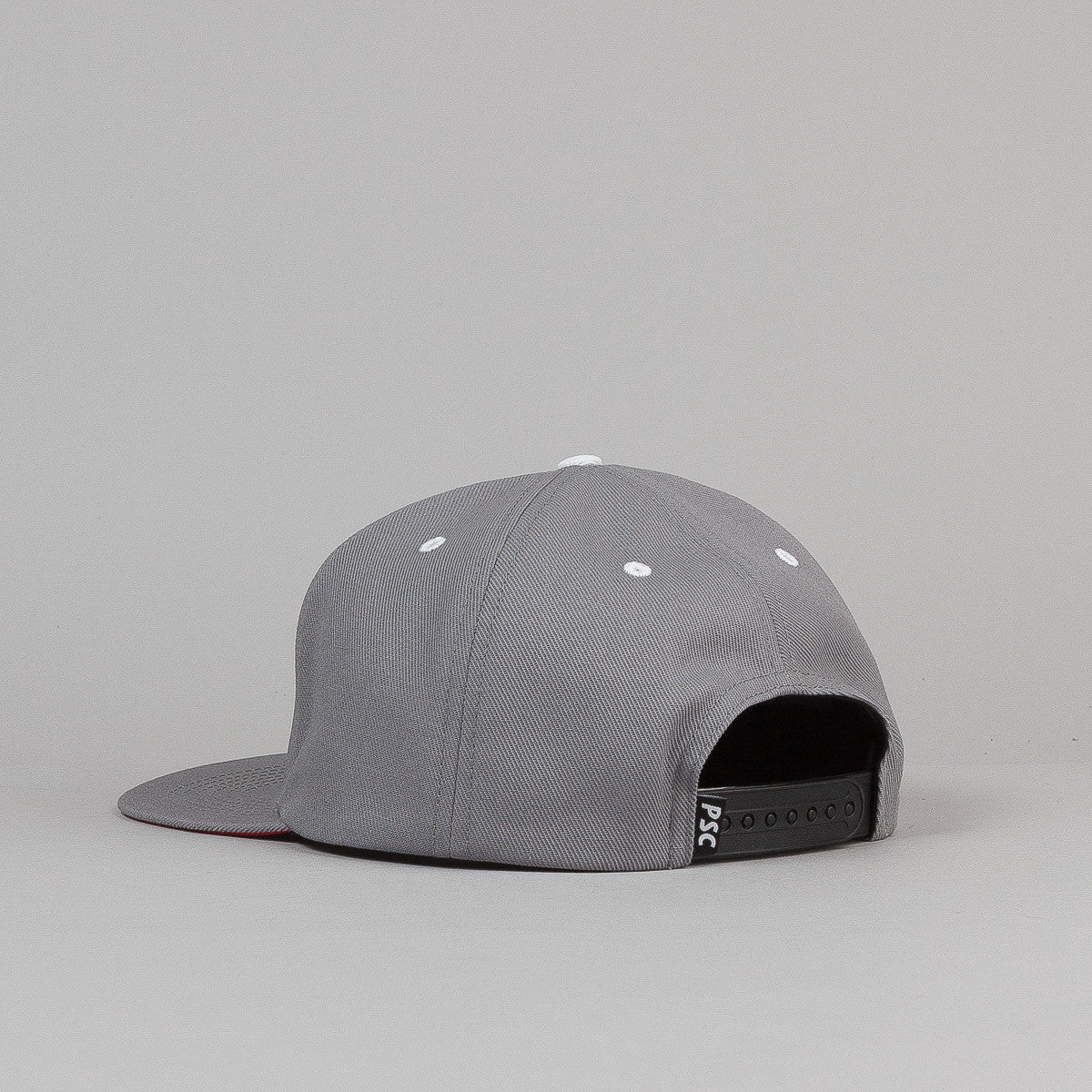 Polar Stroke Logo Snapback Cap - Grey / Red
