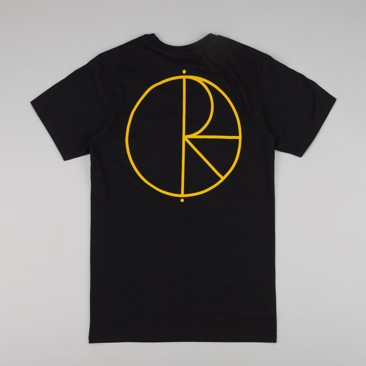 Polar Stroke Logo T-Shirt - Black / Yellow