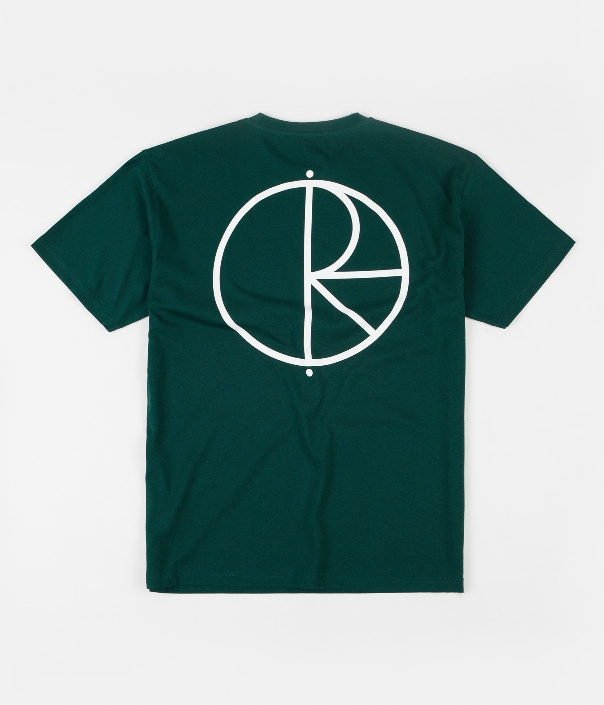 Polar Stroke Logo T-Shirt - Dark Green