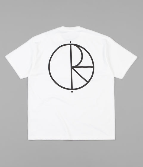 Polar Stroke Logo T-Shirt - White / Black