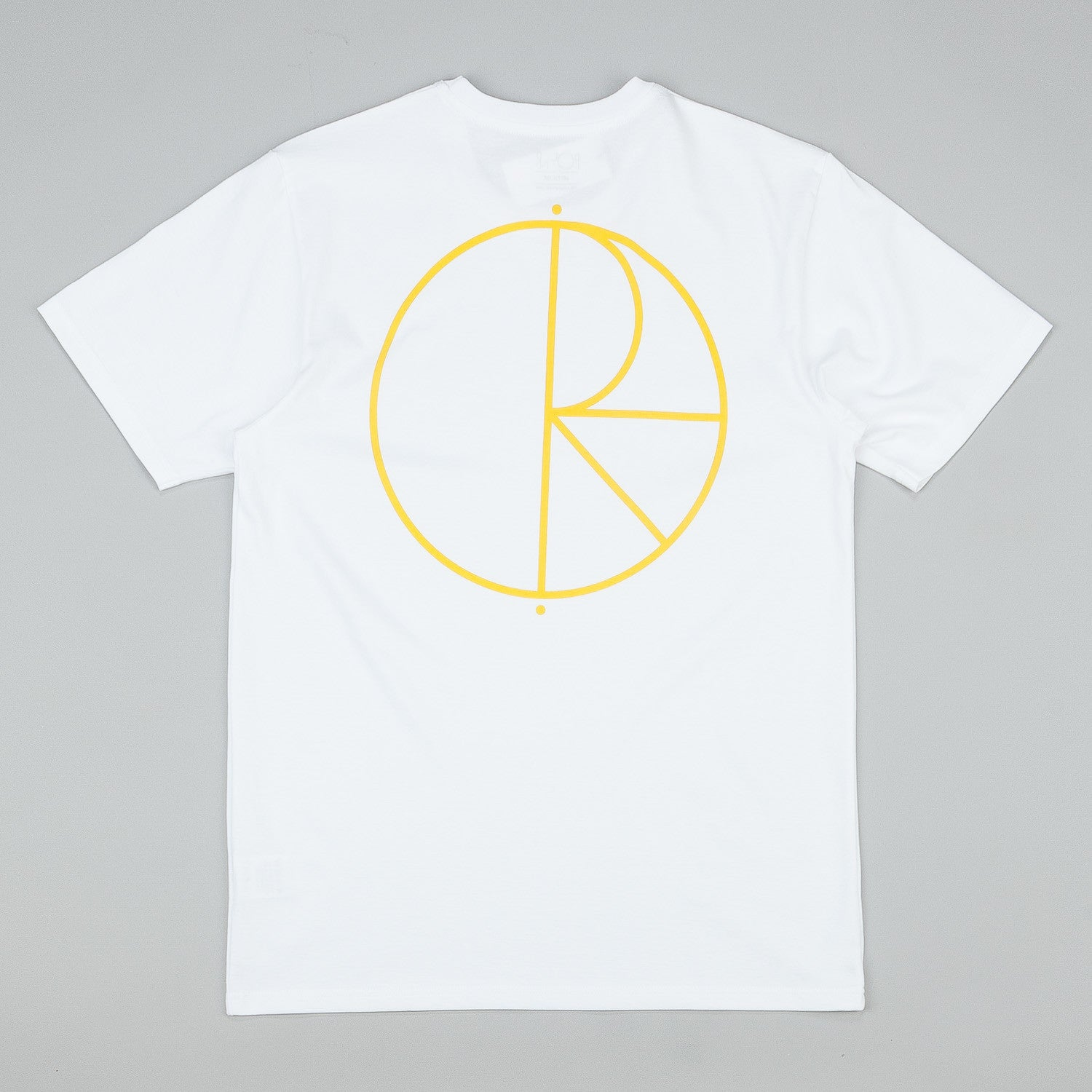 Polar Stroke Logo T-Shirt - White / Orange