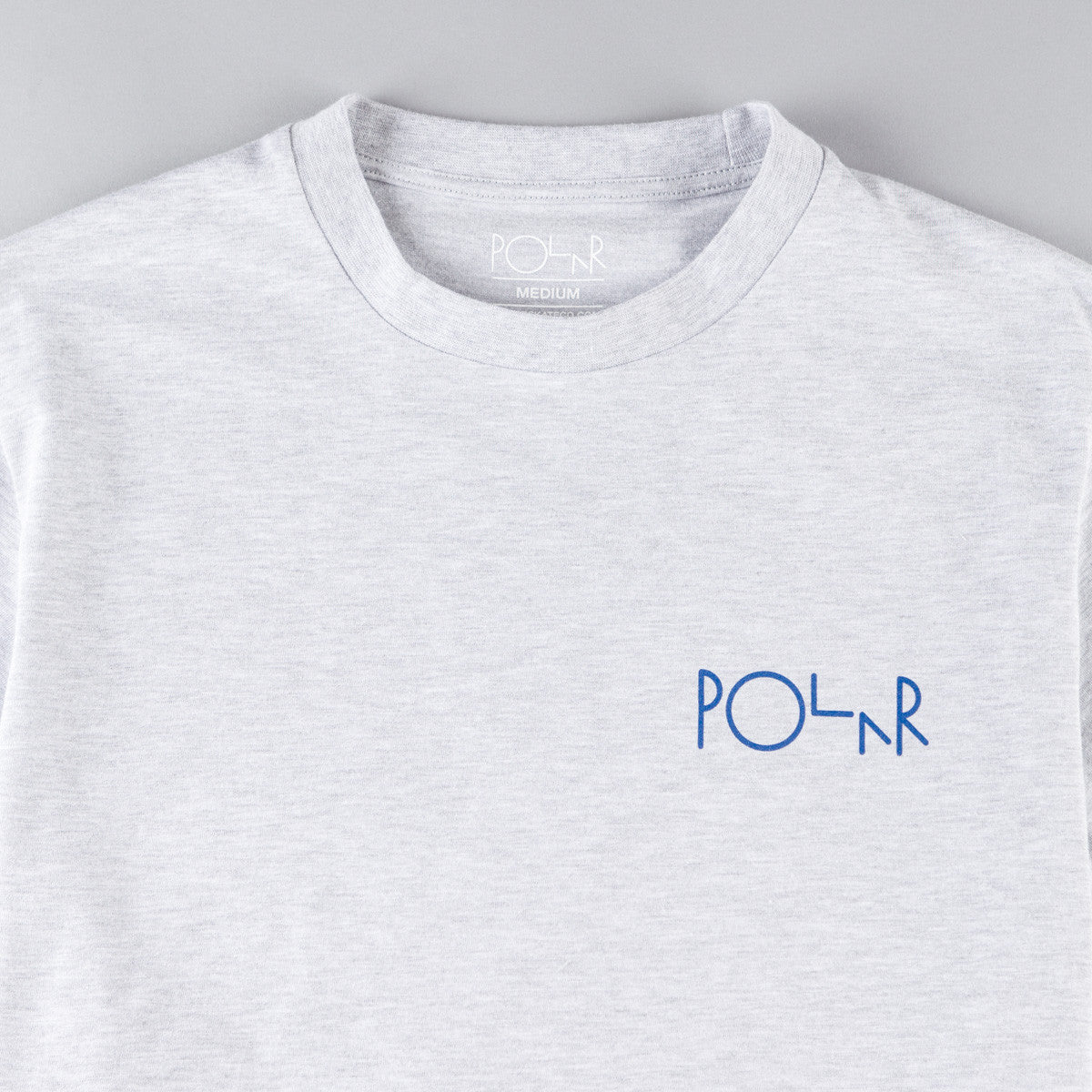 Polar Stroke Logo T-Shirt - Heather Grey