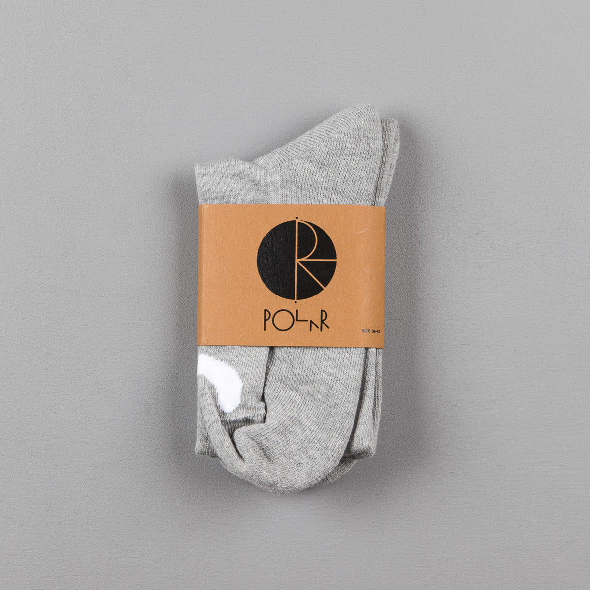 Polar Happy Sad Socks - Sports Grey