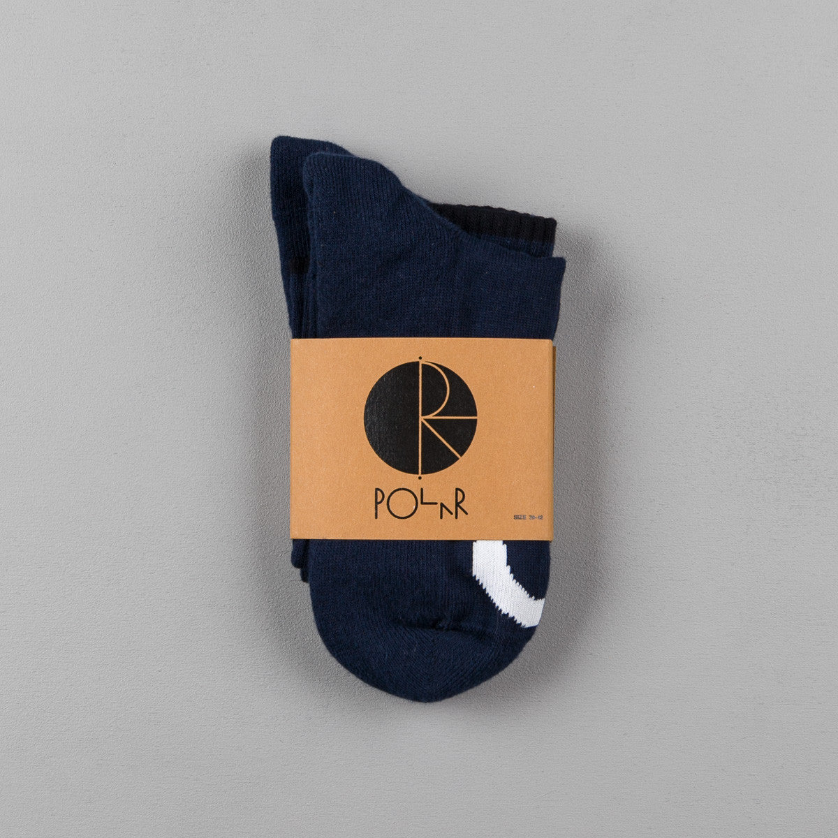 Polar Happy Sad Socks - Navy