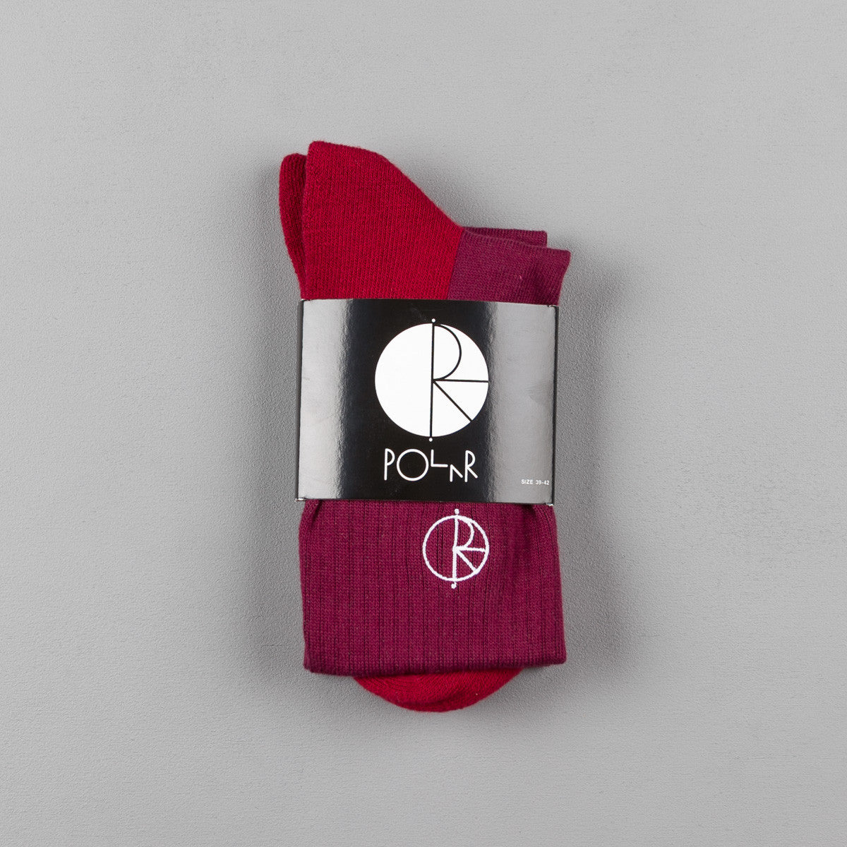 Polar Sport Socks - Burgundy