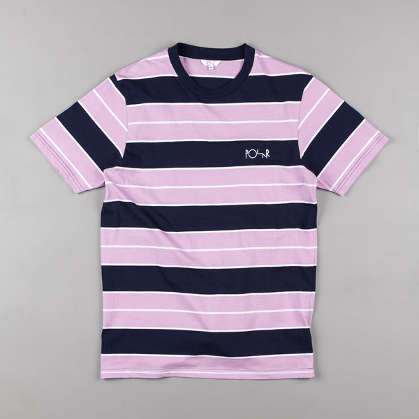Polar Dane T-Shirt - Navy / Lavender