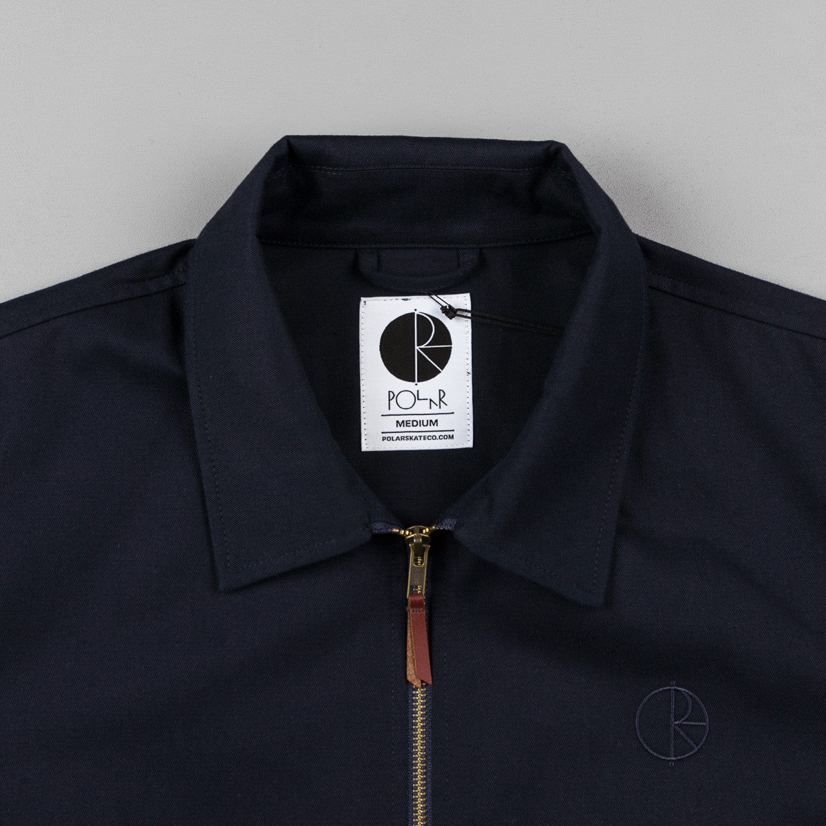 Polar Herrington Jacket - Navy