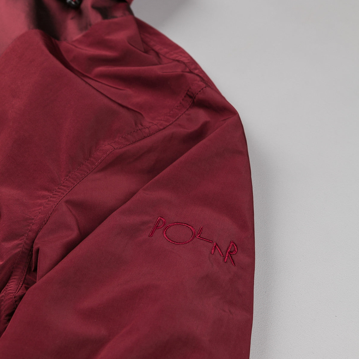 Polar Golf Club Pullover 2.0 Jacket - Burgundy